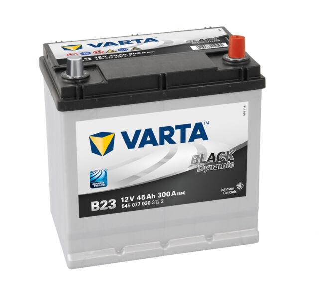 VARTA Black Dynamic Autobatterie B23 45Ah Starterbatterie 545077030 *NEU*