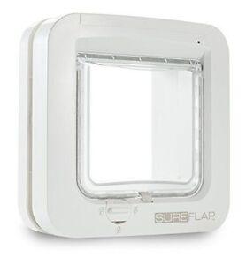 SureFlap SUR001 Microchip Cat Door - White