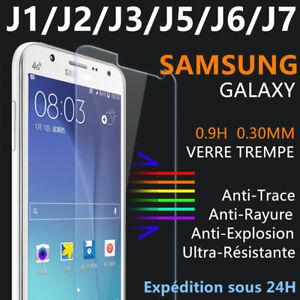 Vitre-protection-VERRE-Trempe-film-ecran-Samsung-J1-J3-J4-J5-J6-J7-2016-2017