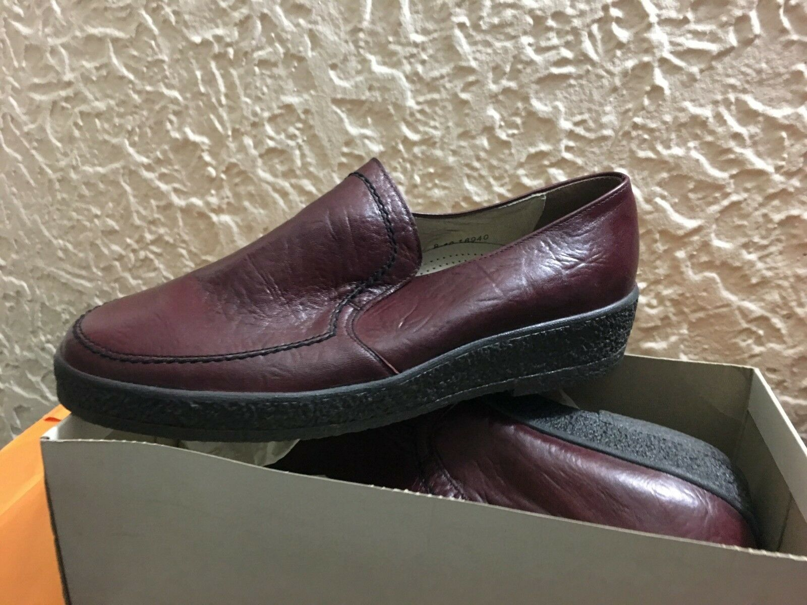 Salamander Rainer Homme Chaussures Made in West Germany. NEUF. RARE