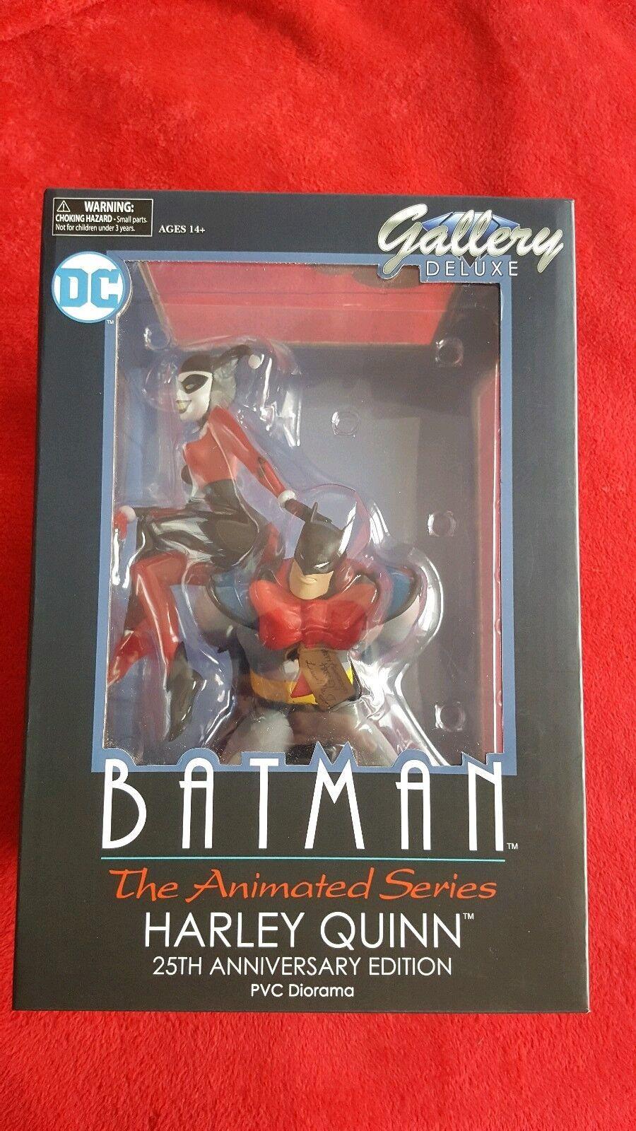 DC Gallery Deluxe Batman Harley Quinn 25th Anniversary Statue BRAND NEW