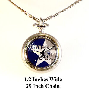 Dallas cowboys pendant necklace watch rare new unworn 1997 ss 29 image is loading dallas cowboys pendant necklace watch rare new unworn aloadofball Gallery