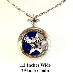 Dallas cowboys pendant necklace watch rare new unworn 1997 ss 29 image is loading dallas cowboys pendant necklace watch rare new unworn aloadofball Images