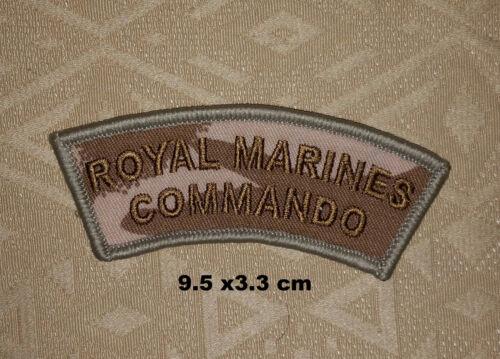 Britisch Royal Marines Commando Dpm Multicam Schulter Flash Gestickte Abzeichen