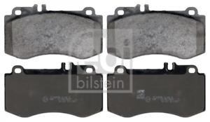 Scheibenbremse für Bremsanlage Vorderachse FEBI BILSTEIN 116131 Bremsbelagsatz