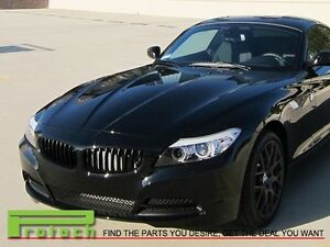 BMW E89 Z4 Coupe//Convertible Shiny Black Front Replacement Kidney Grille 09-14