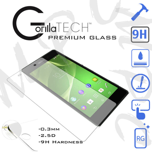Sony Xperia E4 Screen Guard 9H Shield Tempered Glass Film Touch Screen Protector
