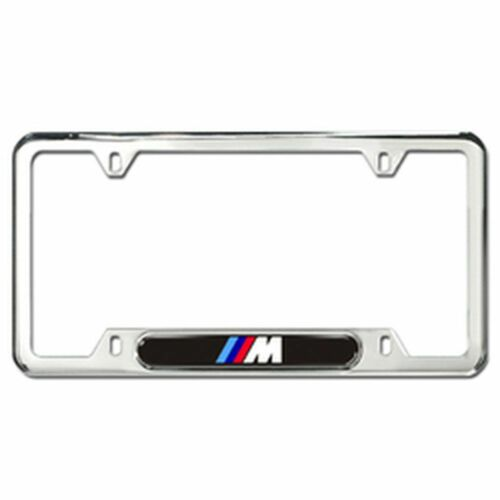 "BMW License Plate Frame /""M/"" Style Polished  82120010405"