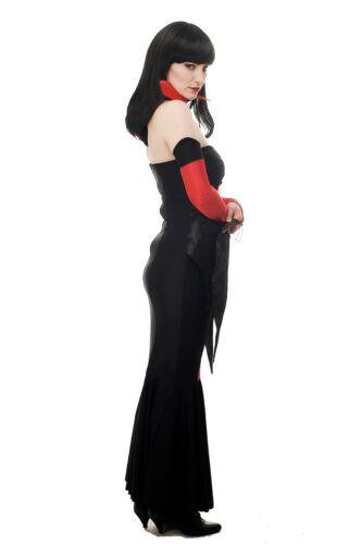 Women/'s Costume Vampire Countess Dracula Bathory Vamp Demoness Witch L066