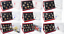 thumbnail 1 - 1985 - 2007 Red Deluxe Proof Year Coin Sets COA Royal Mint Select Your Dates