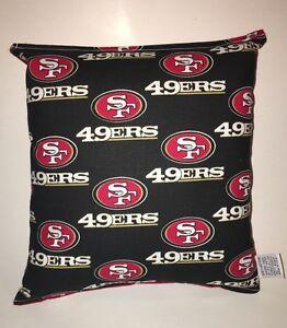 49ers-Pillow-NFL-Pillow-San-Francisco-49ers-Pillow-Football-Pillow-HANDMADE-USA