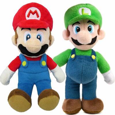 "Plush Mario Luigi Soft Toy Stuffed Animal Doll Teddy 15/"" New Super Mario Bros"