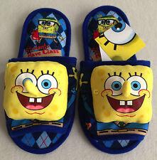 SPONGEBOB SQUAREPANTS Plush Slippers Shoes Sandal Size UK 4-8, EU 36-42, US 6-10