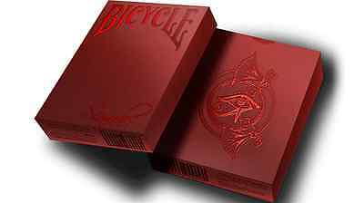 Scarab Ruby Deck Bicycle Playing Cards Poker Size USPCC Custom Limited Ed Sealed