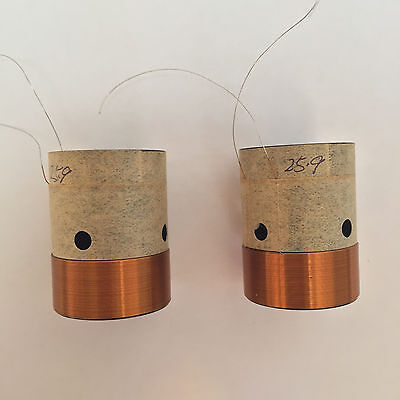 1 pcs of 25.9mm 26mm  H:35mm black aluminous bass  woofer speaker voice coil