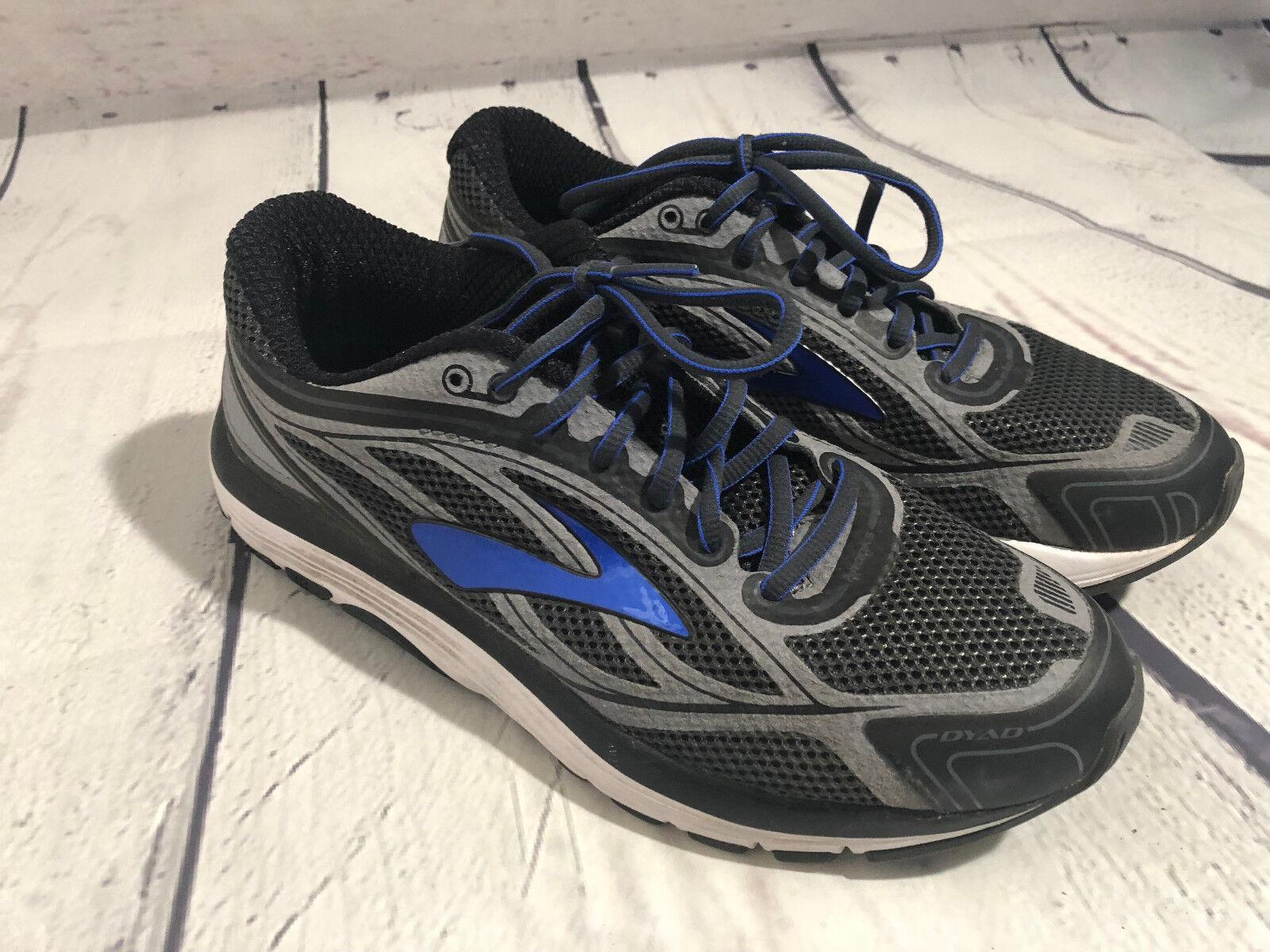 BROOKS DYAD 9 Taille US 8.5 Homme Chaussures De Course Avec LYNCO orthodics Semelles Intérieures