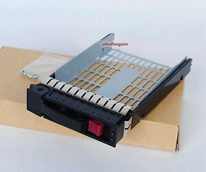 NEW-3-5-034-Hotswap-SAS-SATA-Tray-Caddy-FOR-HP-ML350-ML370-DL380-G6-G7-373211-002