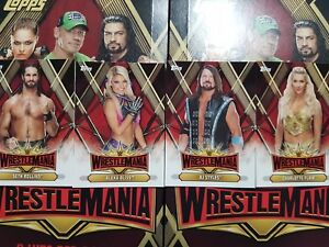 YOU PICK FROM LIST 2019 Topps WWE Road to WrestleMania WrestleMania 35 Roster