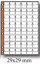 10-fogli-UNI-MasterPhil-rinforzati-sistemare-collezione-monete-in-raccoglitore miniatura 2