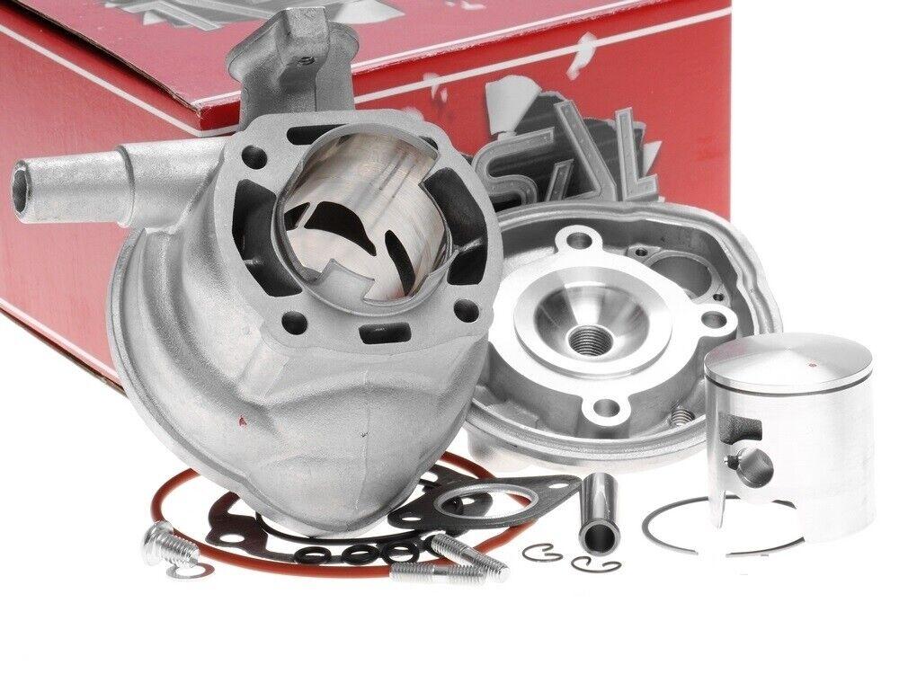 Zylinder 70ccm Sport Aprilia SR50 Di Tech Funmaster Morini LC 50 2T Zylinderkit