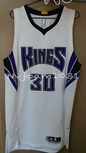 online retailer a1477 f83f9 Details about NBA Seth Curry Kings Home Authentic Pro Cut Team Issued Jersey