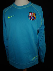 0fa50ccf29b52 La imagen se está cargando sudadera-FC-Barcelona-Nike-azul-talla-10-anos
