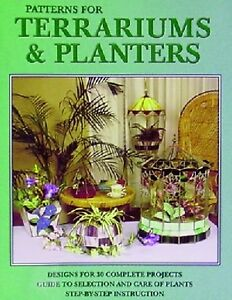 Stained Glass Pattern Book Terrariums Planters Ebay