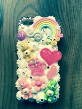 Care BEARS scattanti PANNA Telefono Custodia iPhone 4/4s/5/5s/6/6s SAMSUNG S3/4/5/6