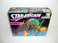 Gi Joe Star Brigade Invader Vintage Action Figure Vehicle Misb Complete 1993