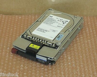"Fornito Hp Compaq 146.8 Gb 3.5"" 10k Rpm 289044-001 Hot Plug Drive Hdd-"