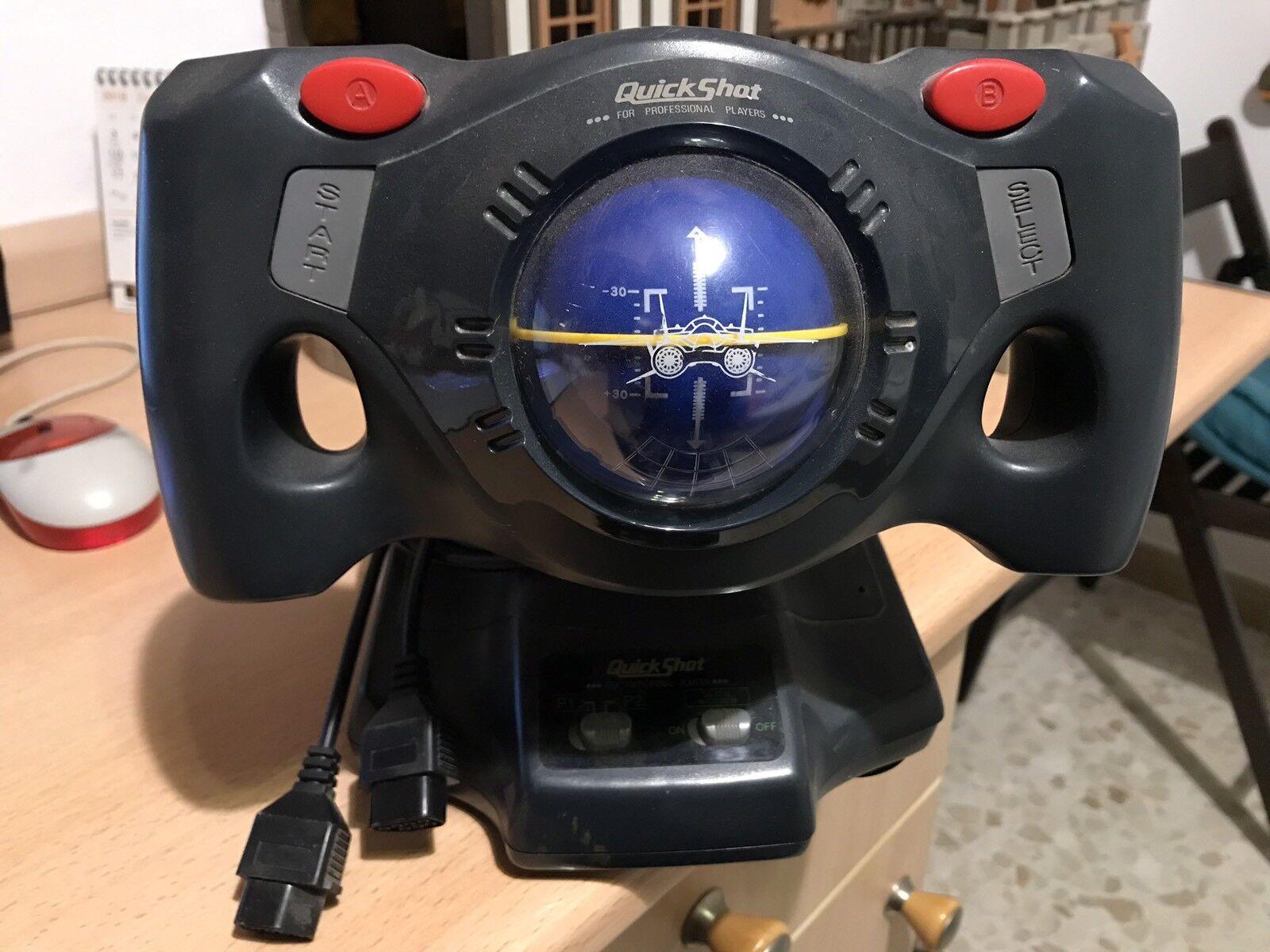Nintendo NES Joystick quickshot aviator vintage retro Juego Mando Mario Bros