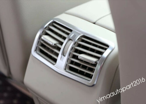 Accessories For Mercedes Benz E CLASS W212 Sedan Rear Air AC Vent Outlet Cover
