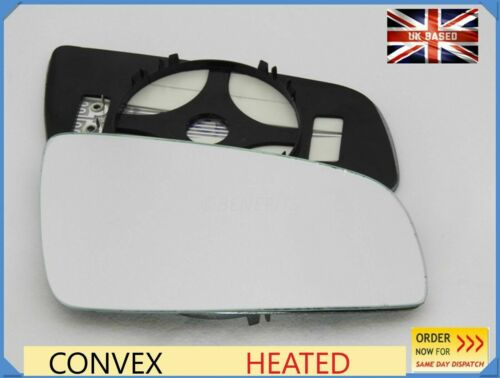 Wing Mirror Glass For OPEL ZAFIRA B 2005-2008 Convex Right Side Heated #F026