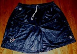 Houston-Texans-Training-Camp-Shorts-3XL-Navy-Embroidered-Logos-NFL