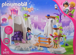 Playmobil-Magic-9470-Suche-den-Liebes-Kristall-Prinz-Prinzessin-Schwan-Eule-NEU