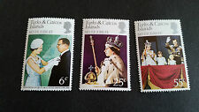 TURKS AND CAICOS ISLANDS 1977 SG 472-474 SILVER JUBILEE MNH
