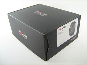 POLAR-FA20-BLACK-HEART-RATE-MONITOR-SPORT-RUNNING-BIKE-EXERCISE-FITNESS-90032307
