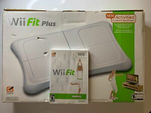 Nintendo Wii Balance Board Bundle with Wii Fit Super Clean Free S&H 🎮🔥