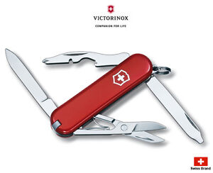 Victorinox Swiss Army Knife 58mm Rambler Pocket Tools 0