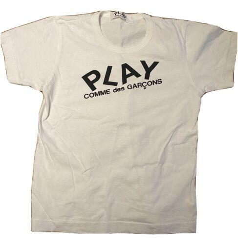 Commes des Garcons Women's Play White t-shirt M