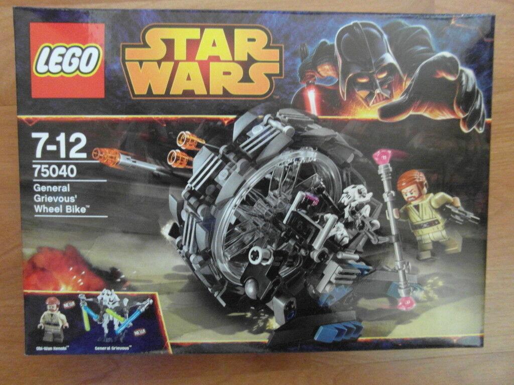LEGO STAR WARS 75040 GENERAL GRIEVOUS WHEEL BIKE BIKE BIKE  NEU NEU NEU OVP OVP OVP 07eb06