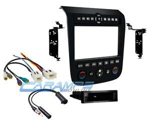 2003 2007 murano black car stereo radio dash trim kit w bose amp wiring harness ebay