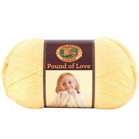 Lion Brand Yarn 550-158 Pound Of Love Yarn, Honey Bee , New, Free Shipping on sale