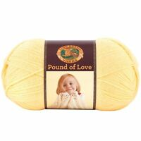 Lion Brand Yarn 550-158 Pound Of Love Yarn, Honey Bee , New, Free Shipping on sale