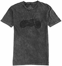 NWT Axel Brand Mens Motorcycle Mineral Wash Tee T SHIRT LARGE
