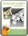 Edward Gorey: Dancing Cats Coloring Cards by Not Avail (Hardback, 2015)