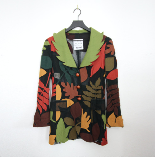 Moschino Cheap & Chic Autumn leaves jacket