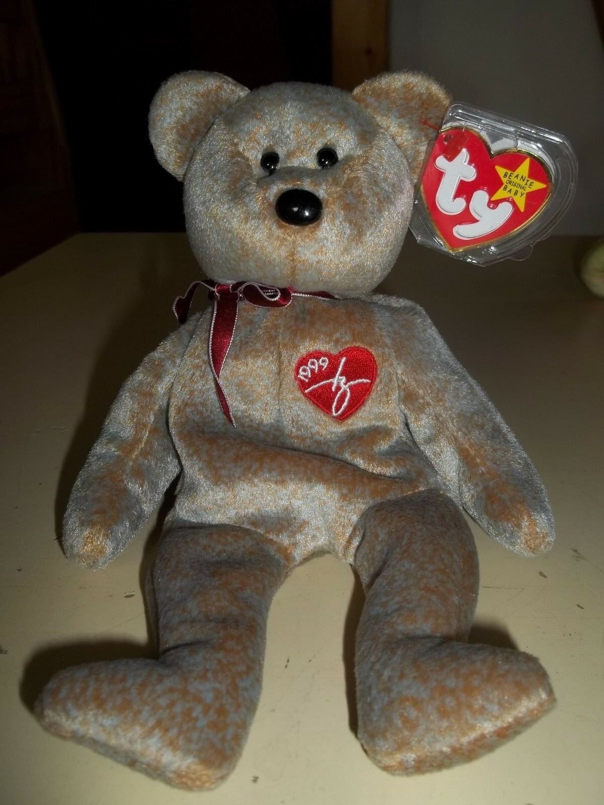 Ty Brown Signature 1999 Rare Retired Predected Tag Bear NWT