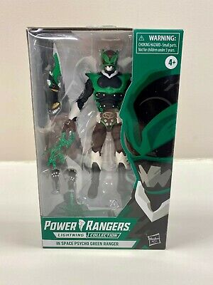 Power Rangers Lightning Collection Psycho Green Ranger New Hasbro Pulse In Hand
