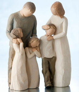Willow-Tree-Parents-with-Three-Children-Figurine-Gift-Set-Family-Group